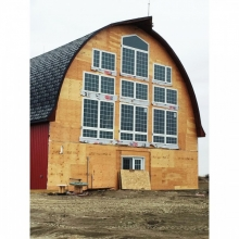 Barn Restoration by Webster Contracting, Windows and and Foundation by DSI Contracting